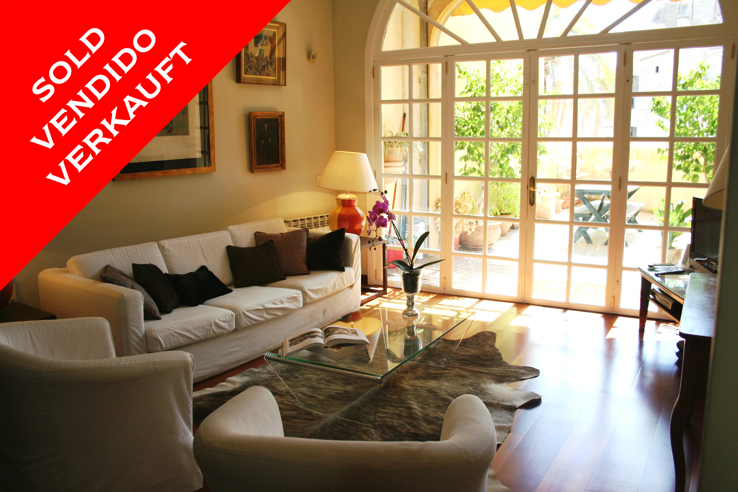 Palma - Family house with terraces in the old town. Sold!