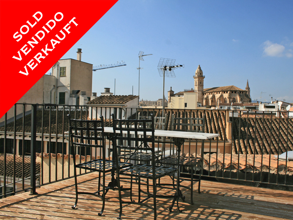 Palma - Charming terraced house in an up-and-coming area of Palma. Sold!