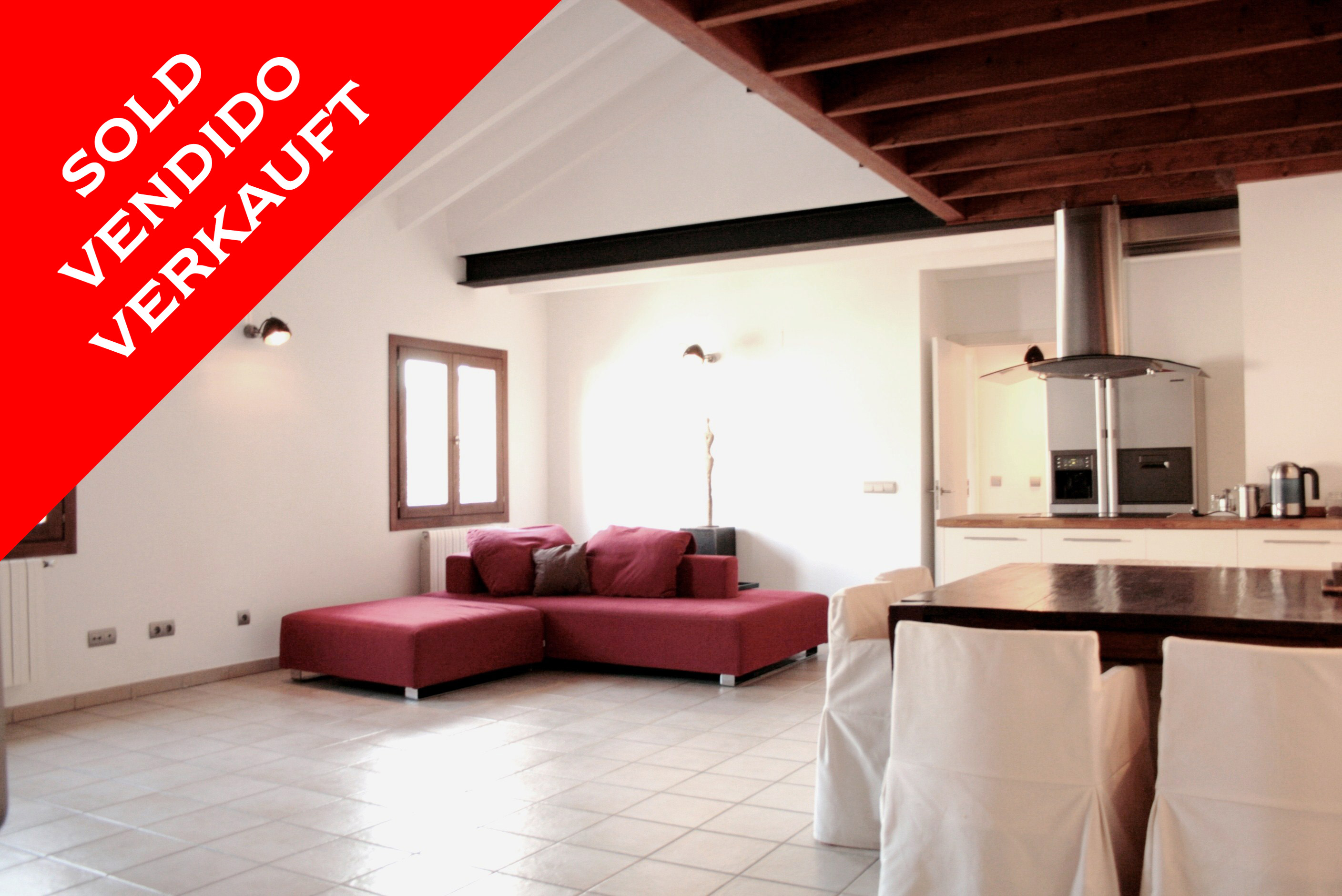 Palma - Modern maisonette apartment with terrace. Sold!