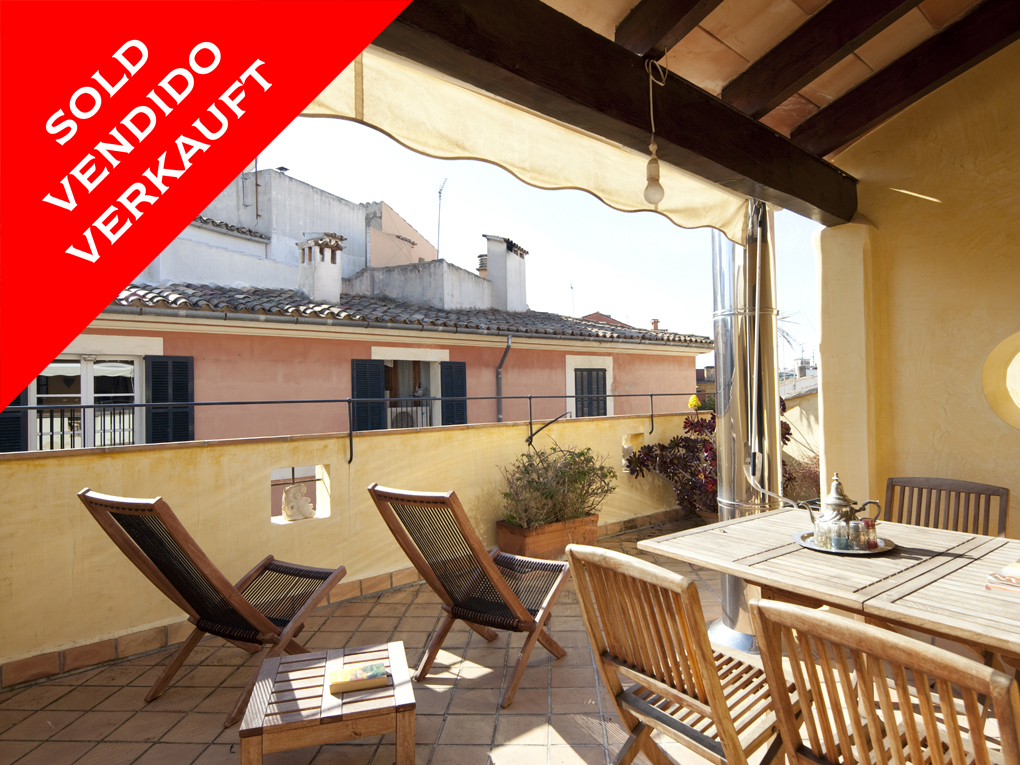 Palma - Apartament with character in the old town. Sold!