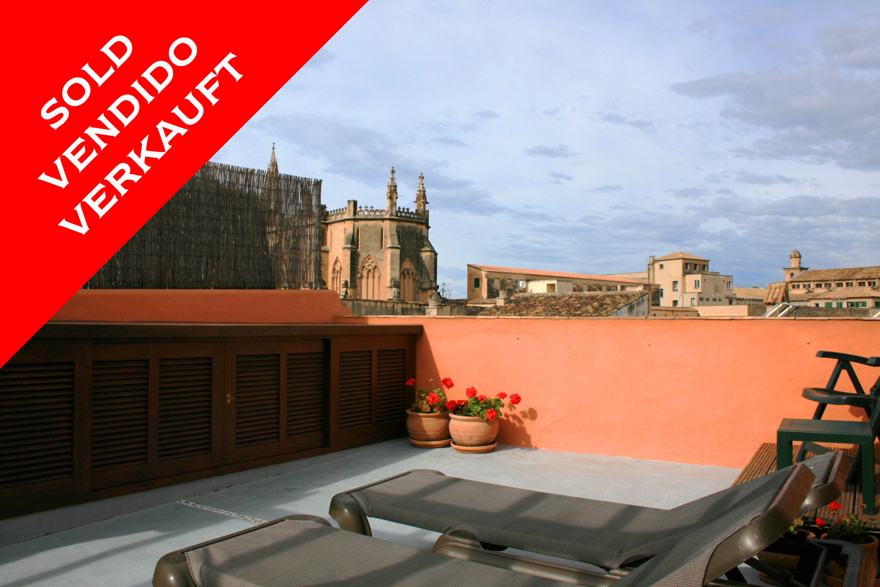 Palma - Cosy apartment with terrace in the old town. Sold!