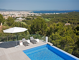 Villa in Son Vida with fantastic sea veiws