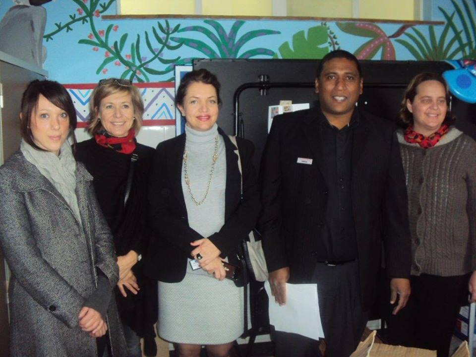 Some of the E&V Southern Suburbs staff at Maitland Cottage Home Society
