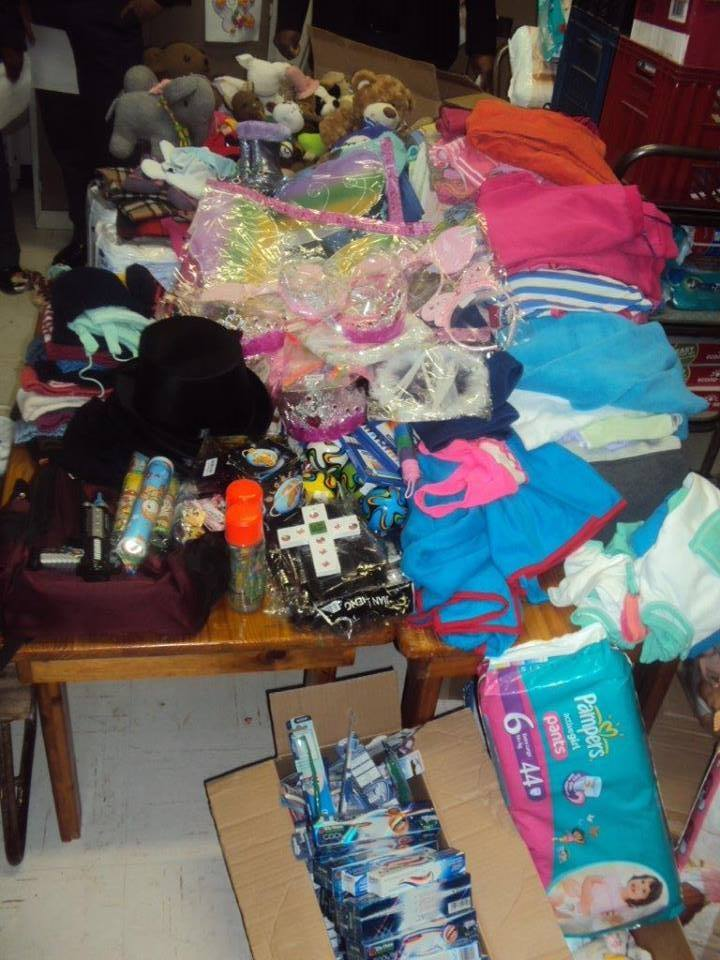 Items collected for Maitland Cottage Home Society