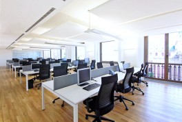 The trend towards open plan offices