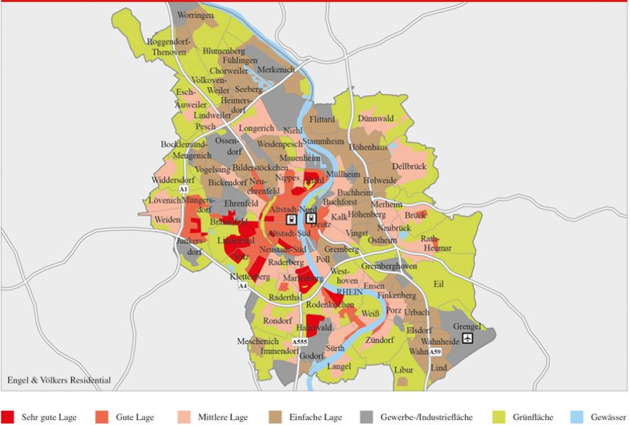 Real Estate News: High Price Level in Cologne