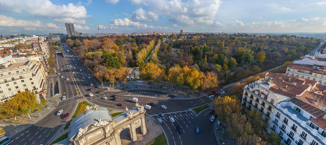 Parque del Retiro - Photo by © AirPano