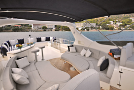 The latest interior trends for yachts
