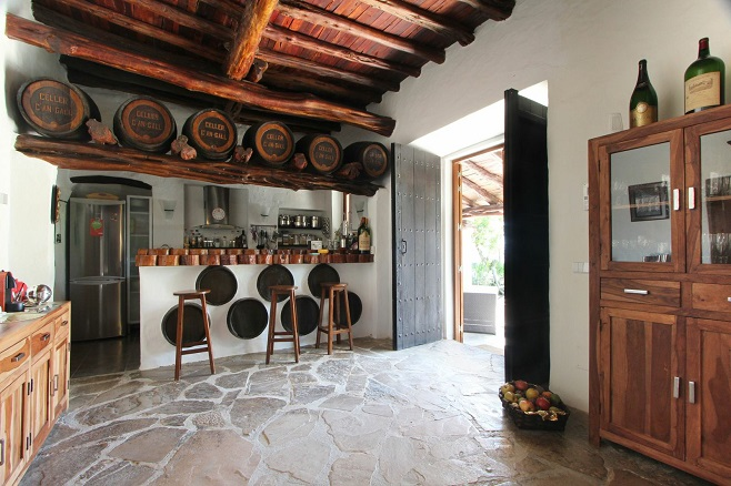 Kitchen of a Property in San Juan