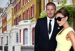 Celebrity Real Estate: Beckhams in a dispute with a neighbour?
