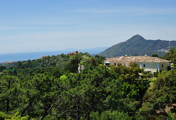 Villa with Panoramic Sea Views La Zagaleta