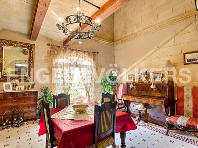 House of Character Rabat Real Estate Malta Dining Area