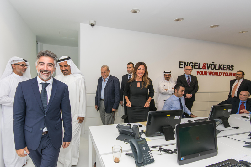 engel v lkers dubai celebrates its official opening with high calibre guests engel v lkers. Black Bedroom Furniture Sets. Home Design Ideas
