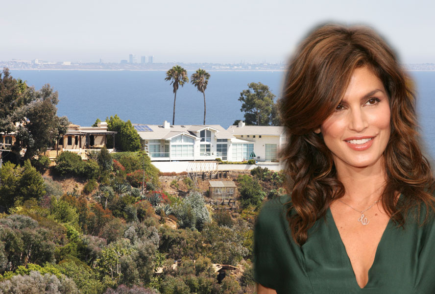 Cindy Crawford is selling her Malibu estate