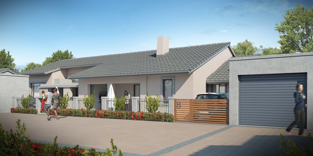 Townhouses in Central Park, Potchefstroom. Ideal for first time buyers
