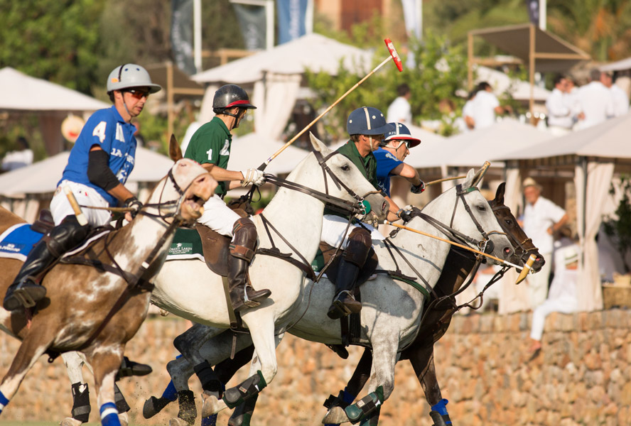 Our Polo Roadshow in late summer: Experience with us polo in Frankfurt