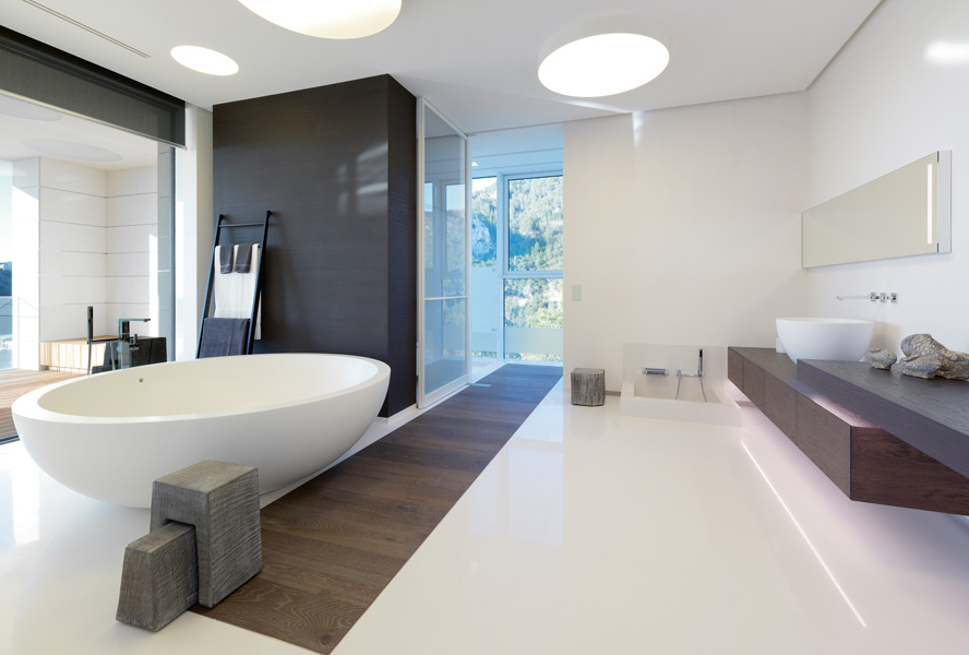 Interior Trend: How to make your bathroom look expensive