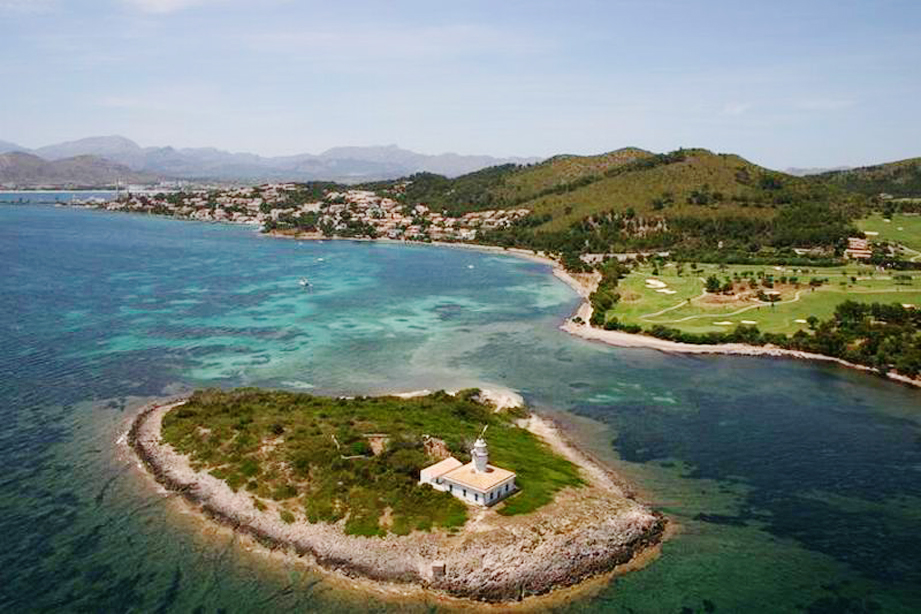 Alcanada Island and the nearby Golf Club