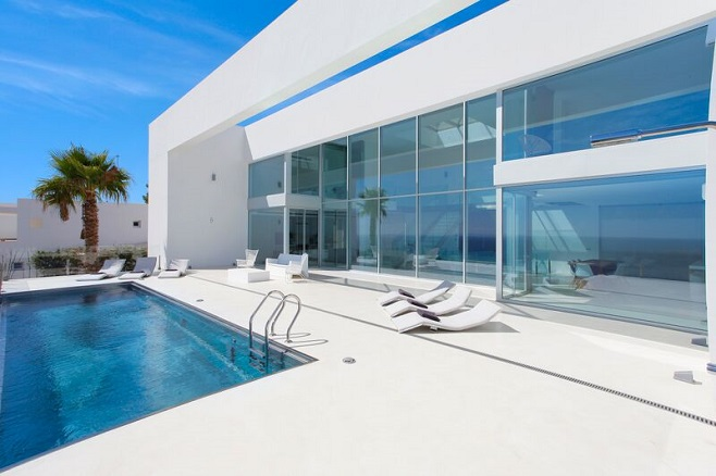 View of a modern property in Santa Eulalia with Pool