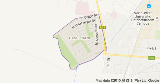 The new houses for sale are located in Dassierand