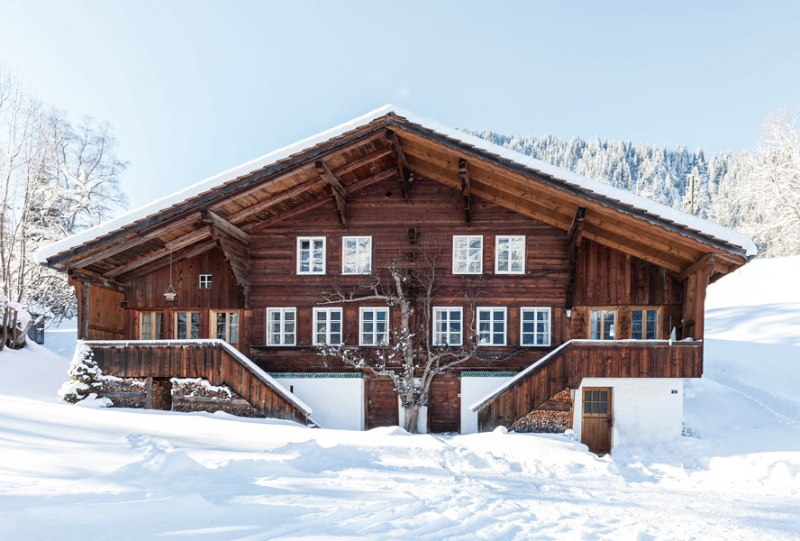 Fantastic dream houses for the New Year - Gstaad