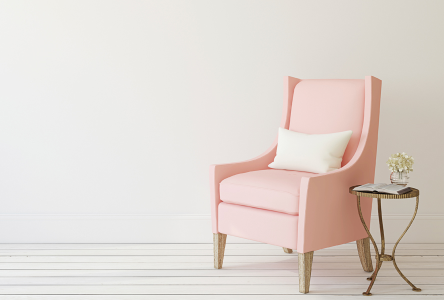 Interior Trend Colour: Dusty Rose