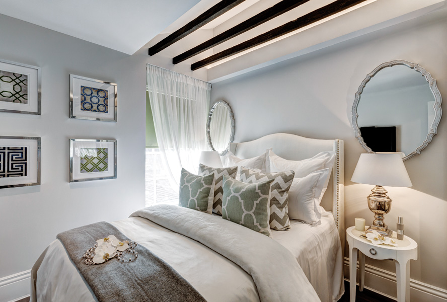 White, grey or blue – Bedrooms that inspire you!