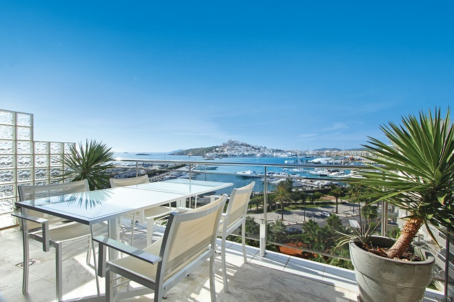 Villa with Terrace and Harbour View (Ibiza)