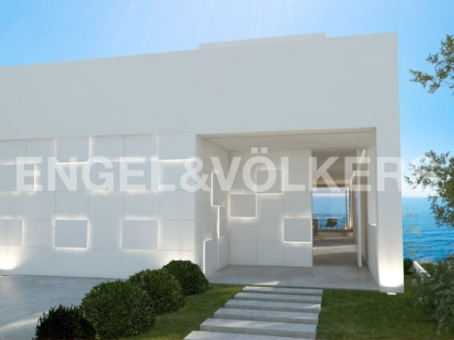 Contemporary property with a sea view (Porto Cristo)