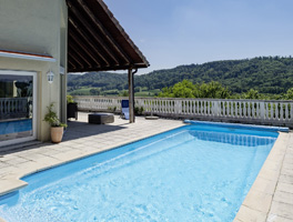 Winterthur - Dättlikon - Luxus-Villa mit Pool am Sonnenhang