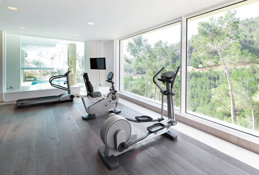 How to create a home gym with limited space