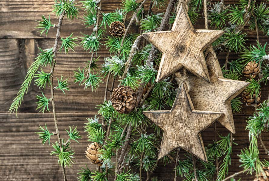 Interior DIY: rustic home design for after Christmas