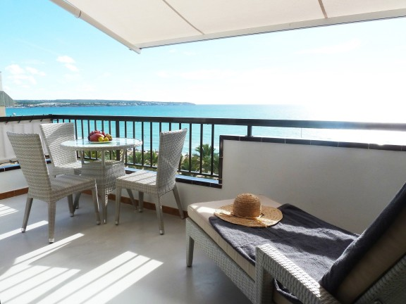 Penthouse with panoramic views of the sea (Palma)