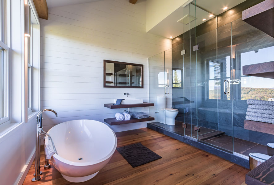 Wellness trend at home: bathtubs