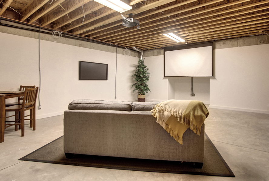 Five creative ways to transform your basement