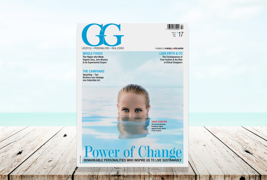 "Experience ""The Power of Change"" in the new issue of GG magazine"