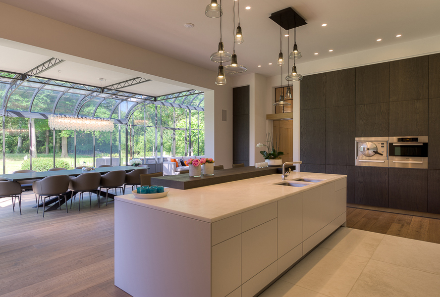 The beauty of kitchen islands