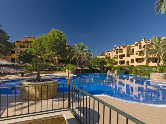 4-bedroom apartment with pool and palm trees (Puig de Ros)
