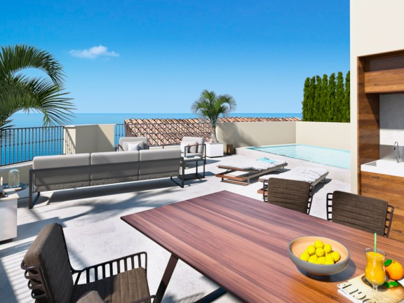 House for sale with stunning sea views (Palma de Mallorca)