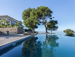 Dream of house with breathtaking sea view (Deià)