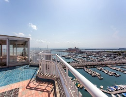 Penthouse for sale with breathtaking panoramic views (Paseo Maritimo)